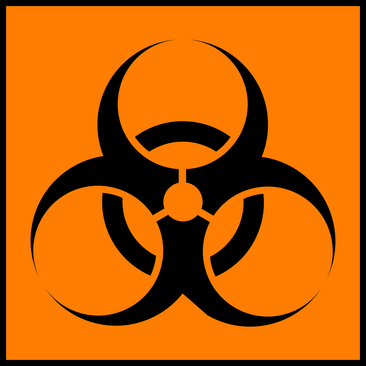 Source: https://pixabay.com/en/warning-trash-hazard-medical-waste-38639/