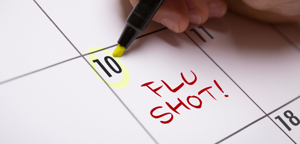schedule flu shot