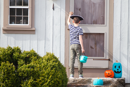 Halloween teal pumpkin food allergy