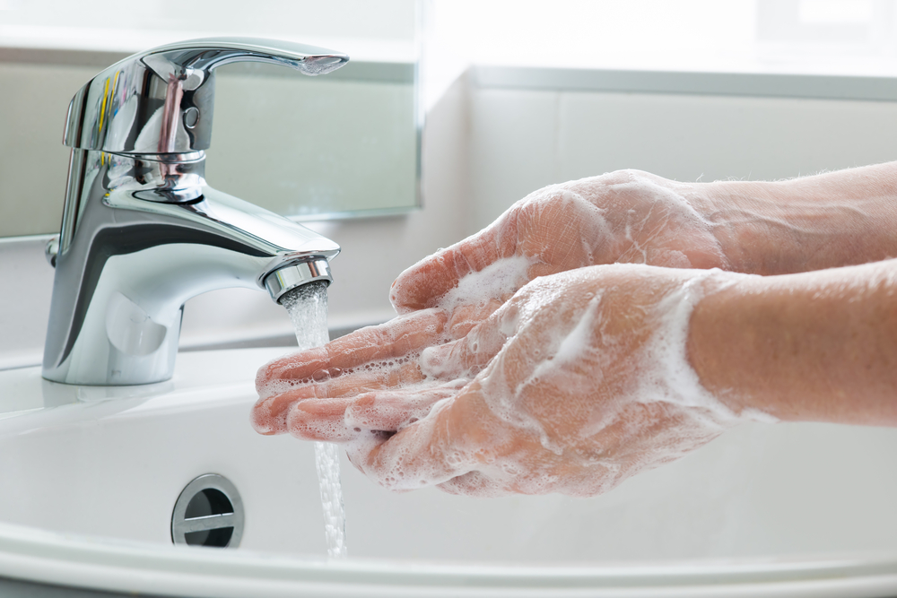 asthma wash hands