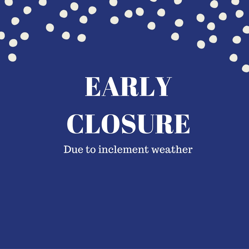 Weather Closure
